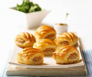 Delicious Summer Meal Ideas individual sausage rolls